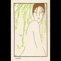 Kandelaars 2 x kristalglas Luxval Val St. Lambert Art Deco jaren 30