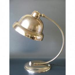 Lamp staand uplight chroom Belgisch Art Deco jaren 30